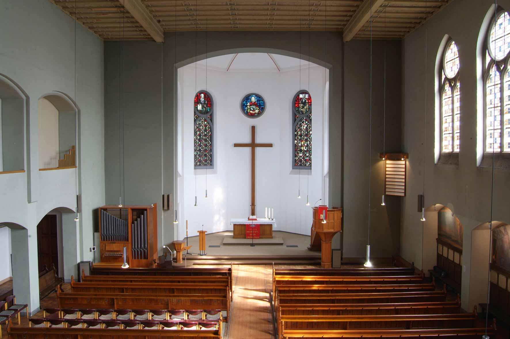 Historische Kirche mit wechselvoller Geschichte
