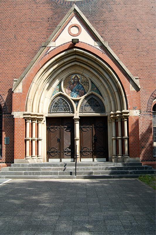 Christuskirche-Eingang
